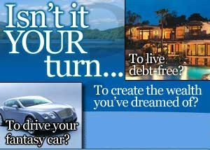 Isn't It Your Turn to Live Debt Free?
